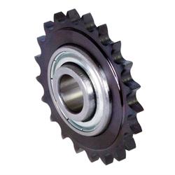 Napínacie reťazové kolesá KSP s ložiskom pre jednoradové valčekové reťaze photo