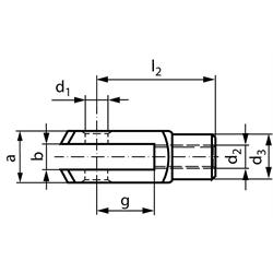 Vidlice podľa DIN 71752, hliník photo