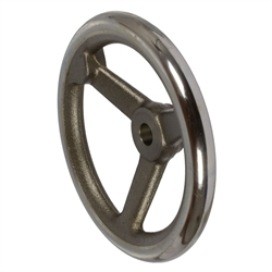Lúčové kolesá DIN950, kruhový otvor, liatina photo