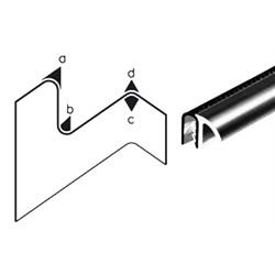 Ochrana hrán s tesniacim povrchom s bočným tesniacim krúžkom photo