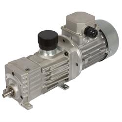 Variator. prevodové motory MUN s špirál. ozubenými prevodmi photo