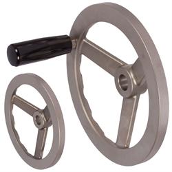 Ručné kolesá s a bez rukoväte, nerez photo