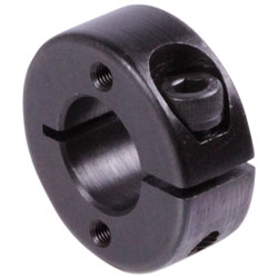 Zverné krúžky GA, narezané, s 2 ax. dierami s zavitom, čiernená oceľ photo