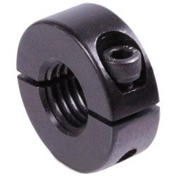 Zverný krúžok delený, so závitom, čiernené photo
