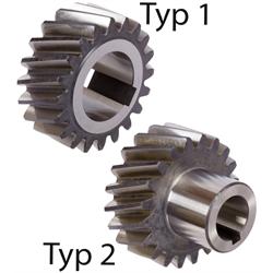 Presné ozubené kolesá,  špirálové, ľavé, Modul 2 photo