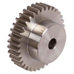 Ozubené kolesá, rozostup 5mm (Modul 1,59), nerez photo