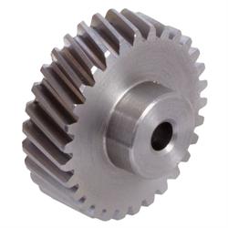 Ozubené kolesá, šikmé ozubenie pravé a ľavé, Modul 1, oceľ photo