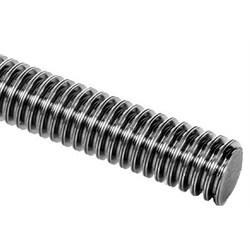 DIN 103 Vřetena s lichoběžníkovým závitem a matice, jednozávitové, levostranné photo