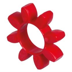 Náhradné vložky, štandardný typ, 98° Shore, červené photo