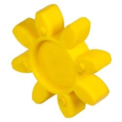 Náhradné vložky pre bezvôlové spojky, 92° Shore, žlté photo
