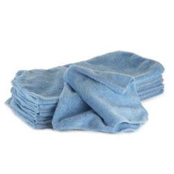 Handrička z mikrovlákien - modrá photo